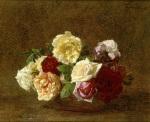 Roses dans une Coupe