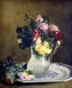 Bouquet de Roses de Juin 1878