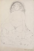 Seated Nude with Parted Legs c.1909-10