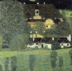 Schloss Kammer am Attersee II by Gustav Klimt