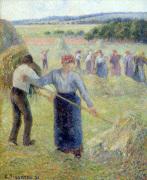Fenaison a Eragny 1891