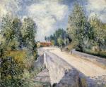 Pont sur l'Orvanne pres de Moret 1883
