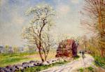 Le Chemin de Butte-Retour en Foret 1889