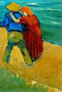 Eclogue en Provence - Un Couple d'Amoureux 1888
