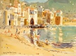 The Fishing Harbour Cefalu Sicily