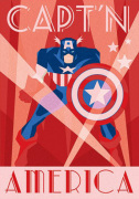 Marvel Deco - Captain America