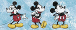 Mickey Mouse - Sqeaky Chic Triptych