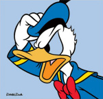 Donald Duck - Blue
