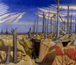 Oppy Wood 1917 - Evening
