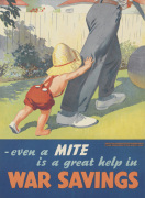 Even a Mite is a Great Help in War Savings by Anonymous
