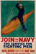 Join the Navy - The Service for Fighting Men