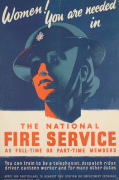 Women! You are Needed in the National Fire Service