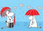 Moomins in the Rain