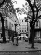 Autumn - Place du Fursternberg Paris 1963