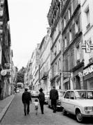Street scene - Rue Tholoze Montmartre 1963