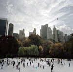 Central Park Ice Rink by Carl Lyttle