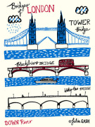Bridges of London - Downriver