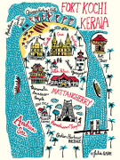 Fort Kochi and Kerala