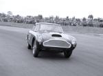 Aston Martin DB6 powerdrift Silverstone