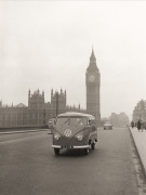 VW camper with Big Ben
