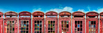 Rusted Red Phone Boxes