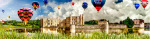 Leeds Castle and Balloons