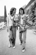 Mick Jagger and Ronnie Wood 1976