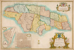 Map of Jamaica 1753