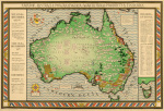 Empire Marketing Board Map of Australia