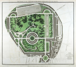 Plan of Regents Park 1812