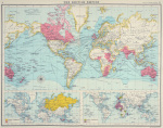 The British Empire The Citizen's Atlas 1912