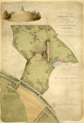Plan for Primrose Hill 1841