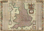 Map of the towns of England and Wales 1680