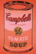 Campbell's Soup Can 1965 (orange)