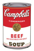 Campbell's Soup I 1968 (beef)
