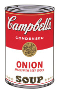Campbell's Soup I, 1968 (onion) by Andy Warhol