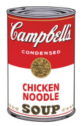 Campbell's Soup I 1968 (chicken noodle)
