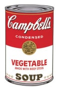 Campbell's Soup I 1968 (vegetable)