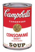 Campbell's Soup I 1968 (consomme)
