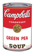 Campbell's Soup I 1968 (green pea)