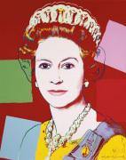 Reigning Queens: Queen Elizabeth II of the United Kingdom 1985 (dark outline)
