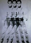 Elvis, 1963 (triple Elvis) by Andy Warhol