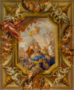 Sketch Design for the Ceiling of the Queen's State Bedchamber at Hampton Court Palace