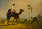 The Hirkarrah Camel (A Scene in the East Indies)