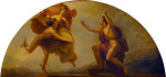 Epimetheus Receiving Pandora (Library-Dining Room ceiling painting 5 of 6)