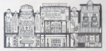 A cross-section through Sir John Soane's Museum 1835