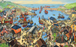 The British Scene - Fishing port scene 1939-1946