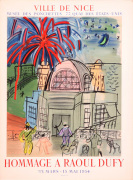 Hommage a Raoul Dufy 1954