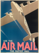 Air Mail Poster 1933
