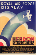 Royal Air Force Display Hendon 1935